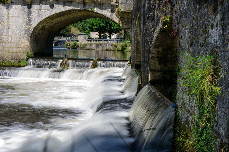 Architecture Bridge France Long Exposure Marthon River Water Fall Water Flow