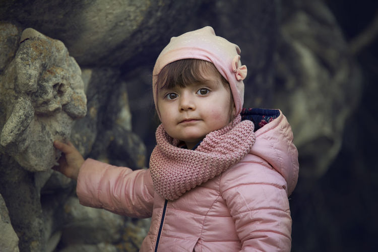 rosa Adult Baby Child Childhood Looking At Camera One Person Outdoors People Portrait