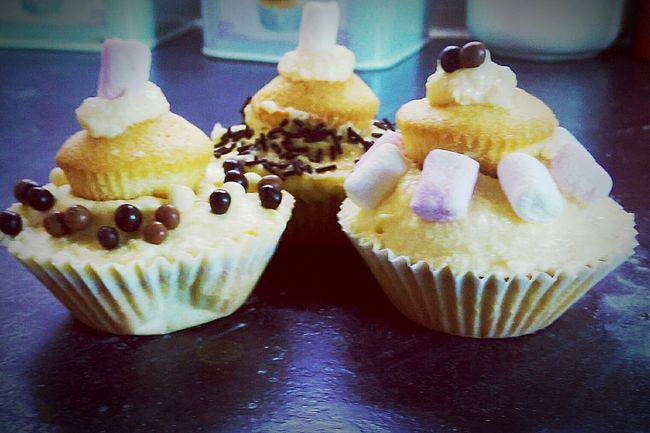 Cupcakes on cupcakes Homebaking Cupcakes Cute Check This Out
