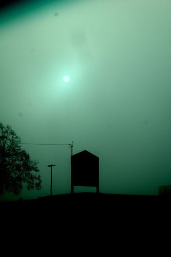 Fog Sun NanaimO NDSS Built Structure No People Tranquility Silhouette Architecture Outdoors Day Nature Sky
