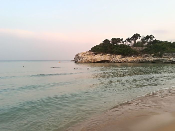 Siracusa Sicily Sea Beach Vacations Tranquil Scene Tranquility Scenics Nature Beauty In Nature Travel Destinations Sunset Beautiful NoFilterNoEdition Summer Views Beautiful Day Beautiful Colors Italy🇮🇹 No People Wave Summer Tranquility Beach Photography Gelsomineto Tourism Vacations