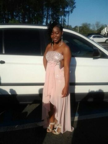 My bestfriend Shakia Baker headed to da prom