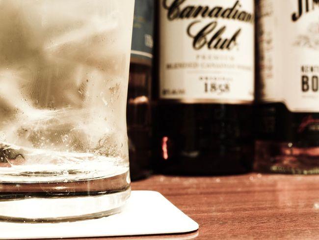 おうち帰りまーす🥃 Drink Refreshment Close-up Drinking Glass Table Bar Counter Bar Alcohol Bar - Drink Establishment Olympus OM-D E-M5 Mk.II