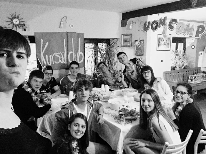 Friends Party Hanging Out Hello World Don't Care Fun Times Friends ❤ Dinner Birthday Surprise 🎂🎁