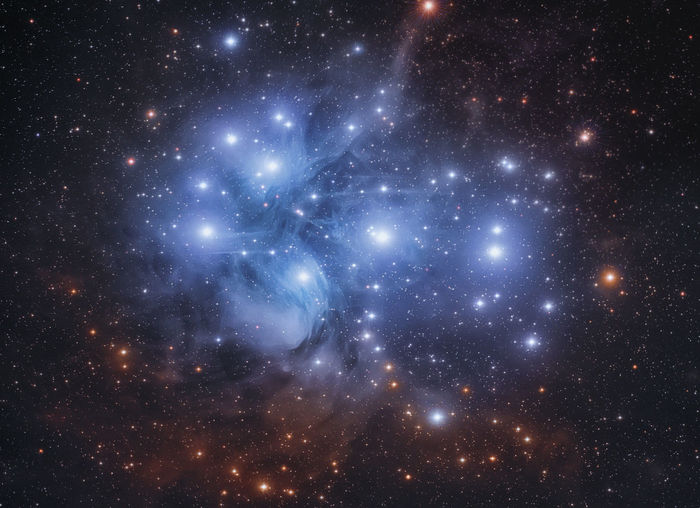 The Pleyades Cluster 500 light years away #Space #astronomy #astrophotography #cluster #Cosmos #nightphotography #nightsky #pleyades #starcluster #university