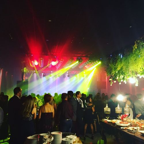 Large Group Of People Night Real People Illuminated Nightlife Men Women Leisure Activity Enjoyment Crowd Fun Arts Culture And Entertainment Music Togetherness Light Beam Event Youth Culture Audience Multi Colored