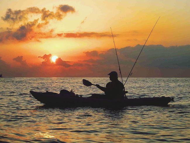 Kayaking Kayak Fishing The Explorer - 2014 EyeEm Awards Enjoying Life