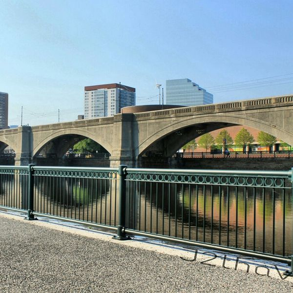 Bridge by Boston, Massachusetts Science Museum  Walkingphotographer Walkingby Bridgeview Cambridge MA