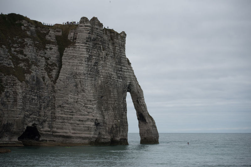Normandie France Normandie, France Beauty In Nature Cliff Day Deauvillebeach Hoffi99 Horizon Over Water Nature No People Outdoors Rock - Object Rock Formation Scenics Sea Sky Tranquility Water