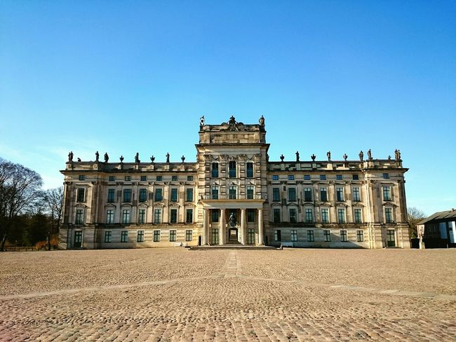 Go for a walk Sunny Day Holiday Relaxing Go For A Walk Blue Sky Palace Architecture