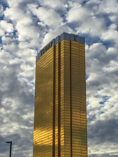 Low Angle View Architecture Sky Built Structure No People Outdoors Building Exterior City Skyscraper Cloud - Sky Day Nature Trump Trump Tower Las Vegas Las Vegas NV Las Vegas ♥ Resist