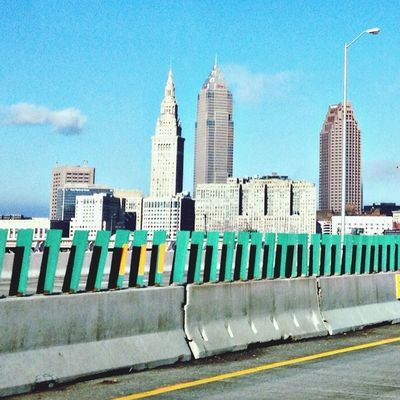 Cleveland is a carnival. Hello World Urban Geometry Architecture On The Road
