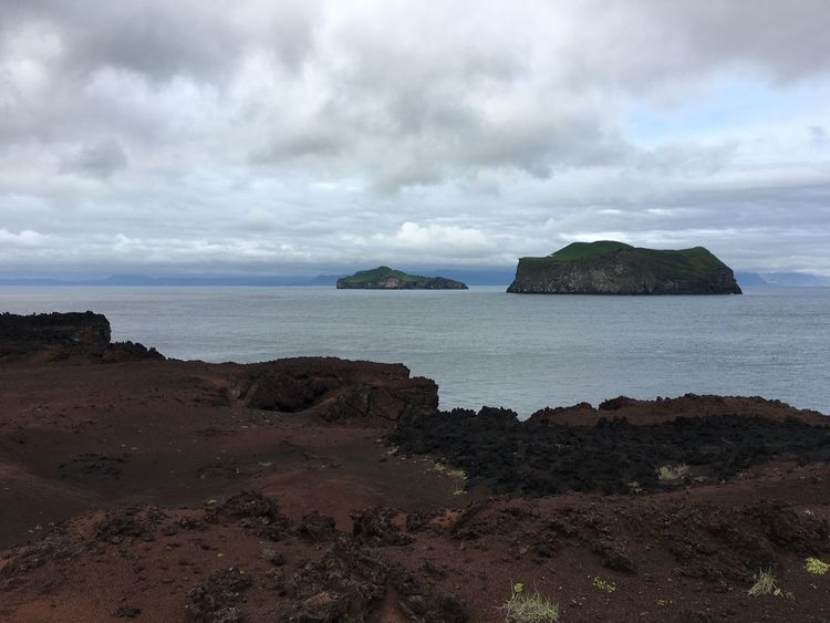 Lava Islands Ocean View Ocean Island Lava Sea Cloud - Sky Sky Water Land Beach Beauty In Nature Scenics - Nature Tranquility Solid Day No People Rock Nature Non-urban Scene Tranquil Scene Horizon Over Water Outdoors Rock - Object