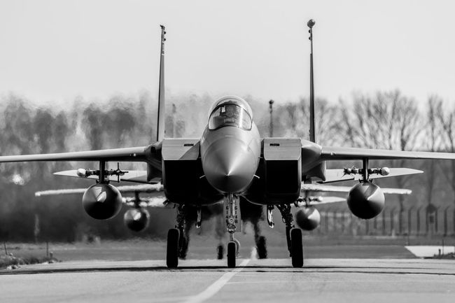 Shot during exercise Frisian Flag Air Vehicle Airbus Airplane Airplane Shot AirPlane ✈ Airplanes Aviation Boeing Day F-15 Jet Military Military Airplane Military Jet No People Outdoors Taxiing Transportation