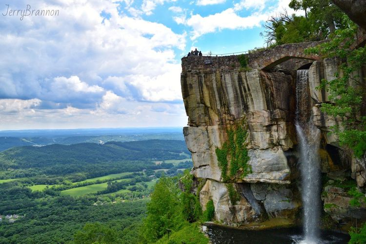 Bestsellers RockCity Tennessee Photography Photographer RubyFalls LookOutMountain WaterFall View Amazing Country Sky Clouds Good Cloud - Sky Old Ruin Sky Travel Destinations History Architecture Outdoors Day No People Ancient Civilization Landscape Nature Mountain Tree The Great Outdoors - 2018 EyeEm Awards