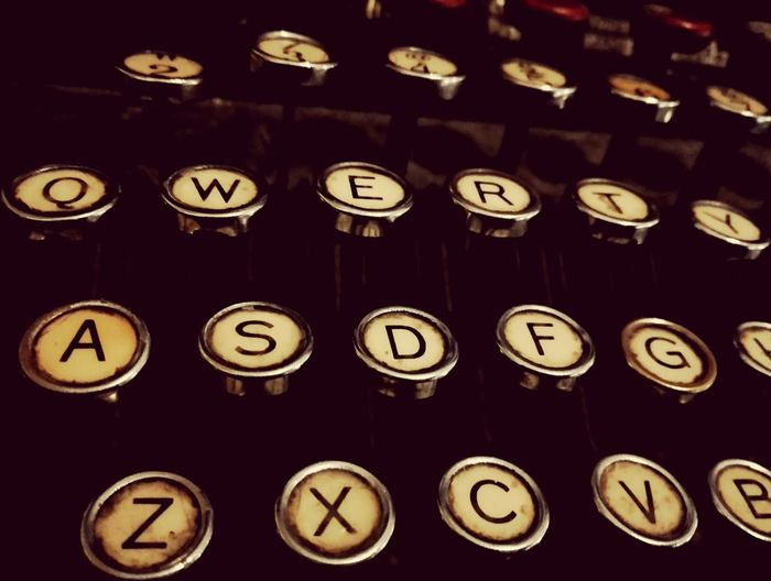 Qwerty Keyboard Qwerty Typewriter Retro Oldschool