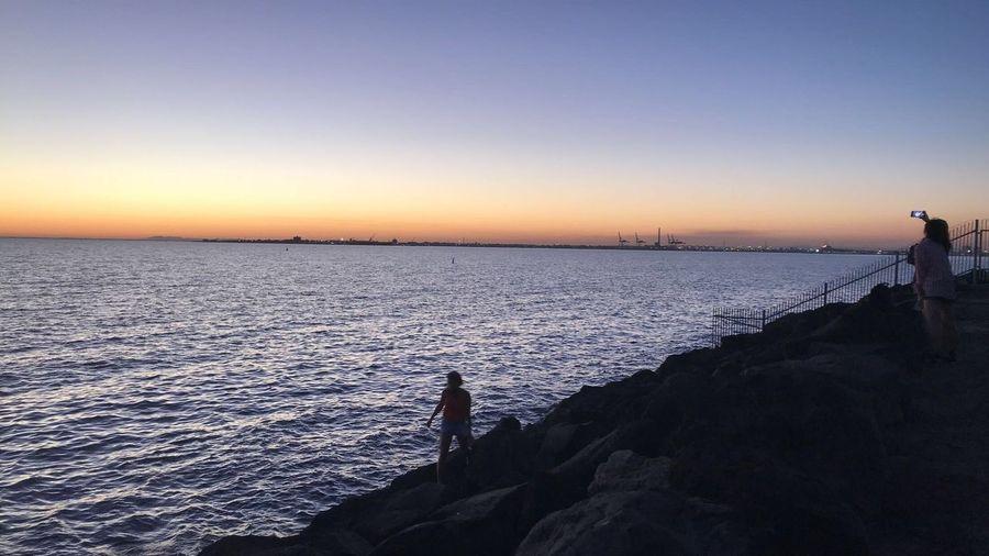 Sunset #melbournephotos