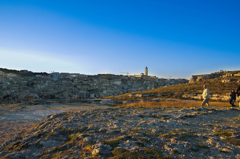Architecture Building Exterior Built Structure Clear Sky Day Matera Nature No People Old Ruin Outdoors Rock - Object Sky