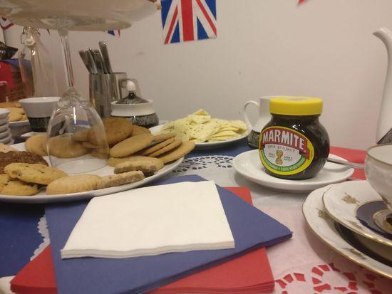 Indoors  No People Food Day Breakfast Marmite British Flag Sweets Snack Food Table Tasty😋
