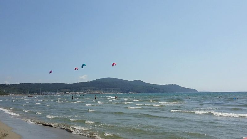 Sea Surfers No Filters Or Effects Follonica Darsena Beach Life