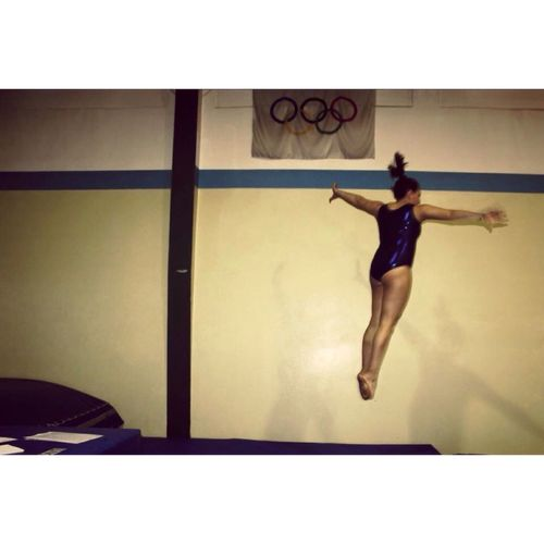 Up in the air! Artistic Gymnastics TeamGymnastique Gymnastics❤