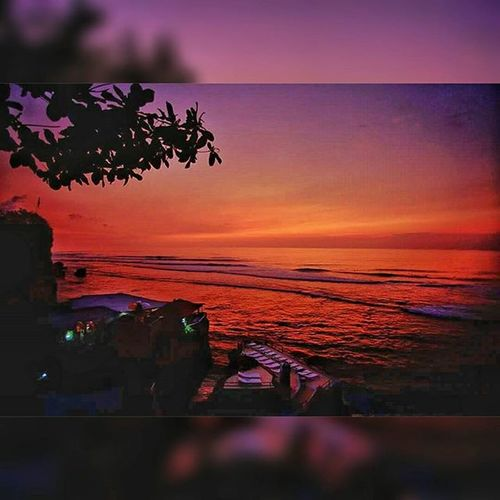 Sunset at Suluban Sulubanbeach Surf Sulubanbeachbali Sulubancliff Bali Indonesia_photography INDONESIA Beach Seascape Landscape Bluesky Sea Seaside Wave