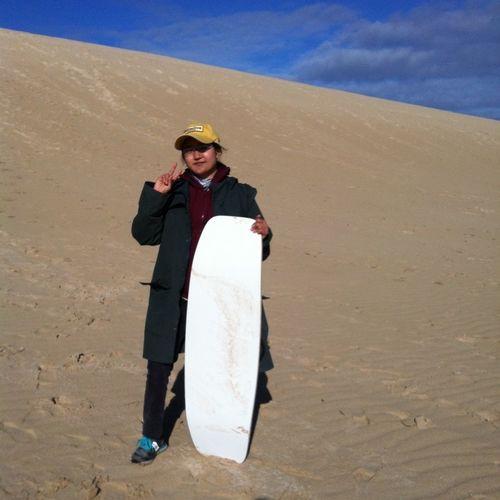 Sand Sky Enjoy ✌ Happy :)
