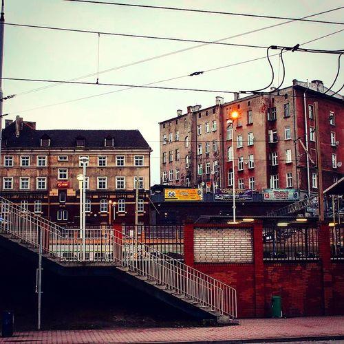 Dworzec Szczecin Główny. Szczecin Poland #architecture Polska Beautiful Zachodniopomorskie ARCHITECT #Poland Architecturelovers #photography Station Architecture Building Exterior Built Structure Cable Outdoors Sky City Day