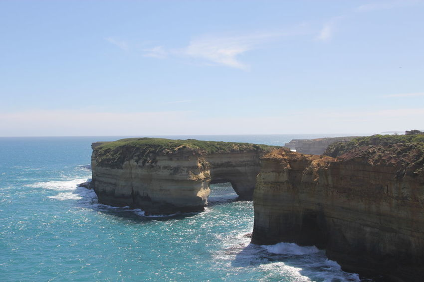 Great Ocean Road 12 Apostles Australia Australia & Travel Australian Landscape Beauty In Nature Day Great Ocean Road Melbourne Nature No People Outdoors Sea Sky Tranquil Scene Tranquility