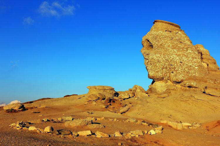 Sphinx Of Rock Formations At Bucegi Natural Park
