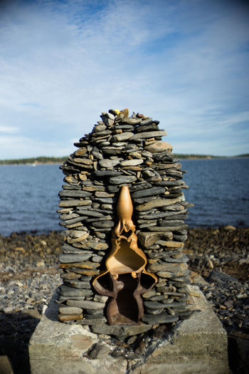 Beach Outdoors Stone Stone Material