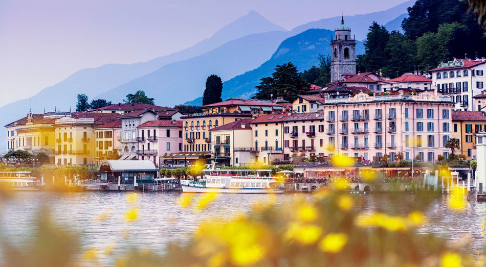 Bellagio, Italy Architecture Building Exterior Built Structure City Day Mountain Nature Nautical Vessel No People Outdoors Reflection River Sky Tree Water Waterfront