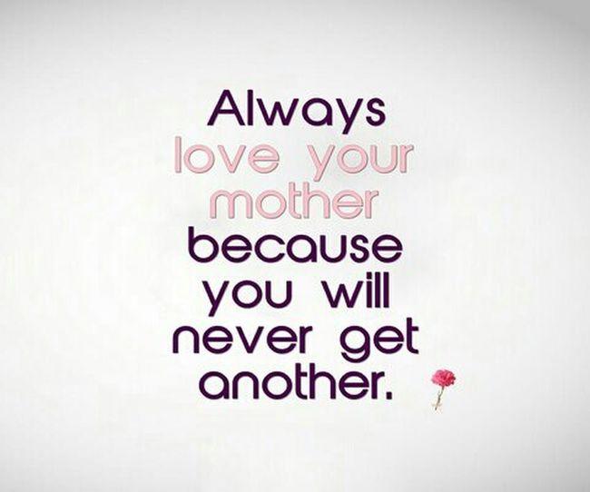 Love you mummy