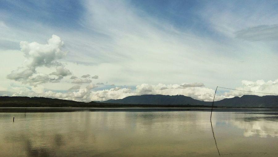 Toba Nature Lakeview INDONESIA Lumbanbinanga Landscape Panoramic Reflection