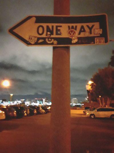one way City
