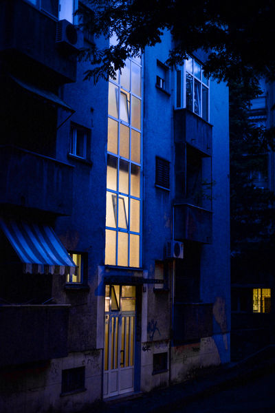 HUAWEI Photo Award: After Dark Night Lights Nightphotography Apartment Architecture Blue Building Built Structure City City Life Dusk Illuminated Night No People Outdoors Residential District Window