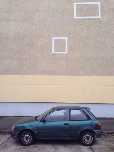 Car parked in