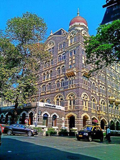 Arsitektur Architecture Old Buildings Mumbaimerijaan Instawalkcolaba Traveling Imindonesiangirl EyeEm Best Shots Starbucks Tajmahalhotel