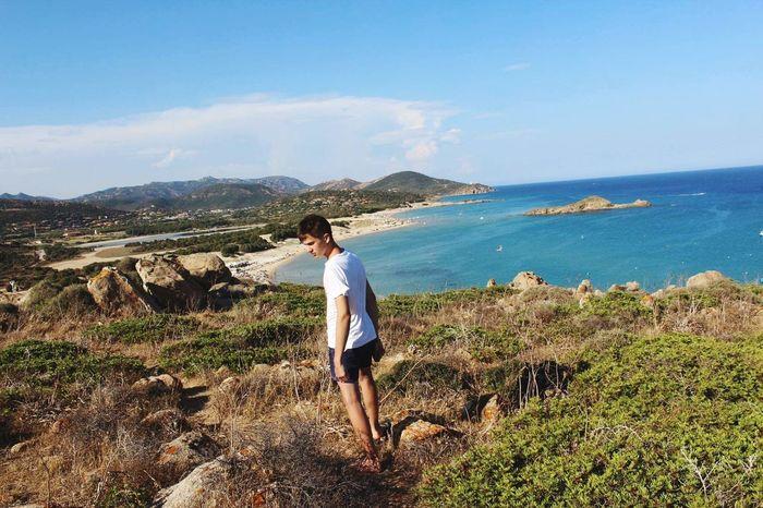 Sardinia Sardegna Italy  Nature #landscape #photography #forest #moutain #clound #sky #blue #peace