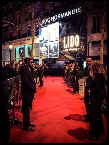 Globesdecristal Lido Night Ceremony Illuminated Paris Tapisrouge Outdoors