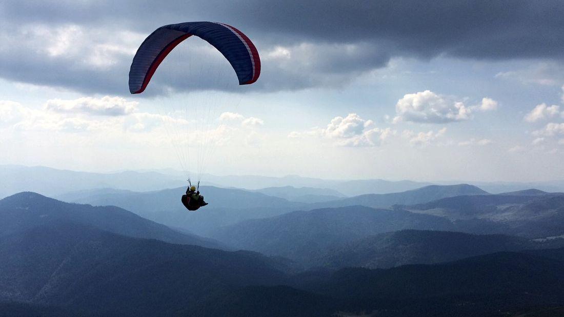 Mountain Parachute Adventure First Eyeem Photo