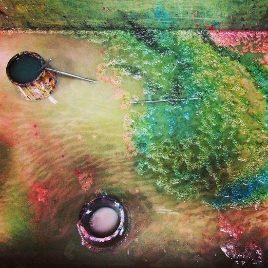 Paint Colors Creativity Down The Drain