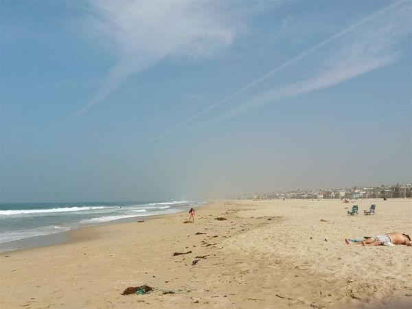 Went to Hermosa Beach Today, I'm on Vacation in LA right now