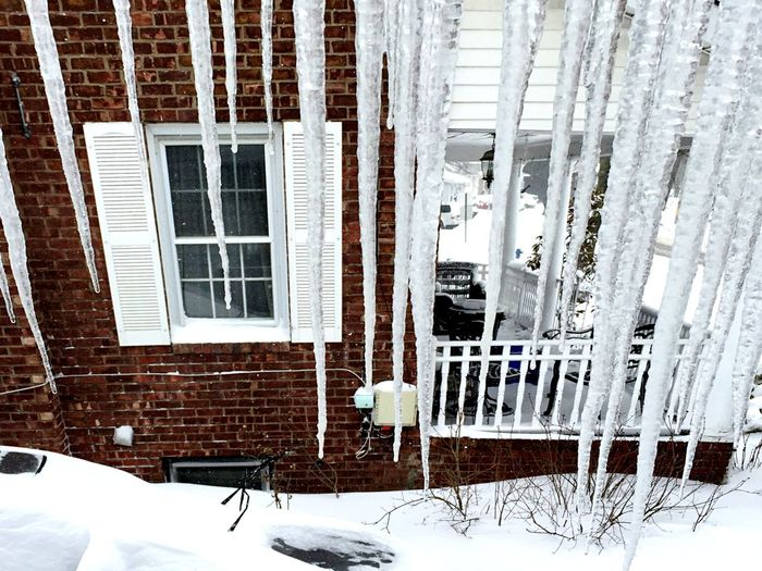 Blizzard 2015 Icicles EyeEm Nature Lover Snow