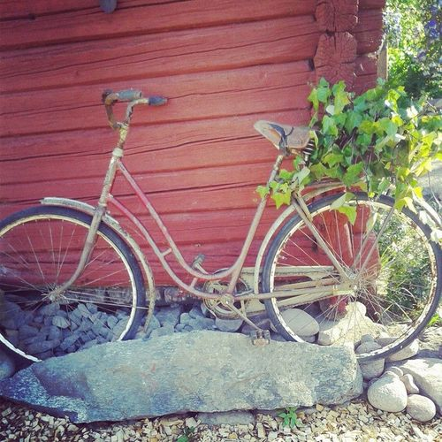Bicycle Country Countryside DIY EyeEmNewHere Outdoordecoration Outdoors Rustic Rusty
