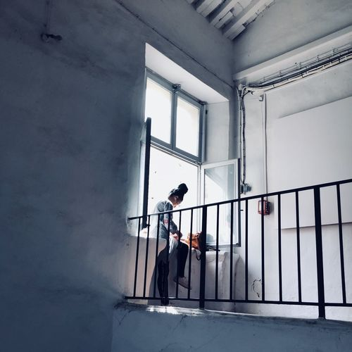 Perpignan Perpinyà Visapourlimage One Person Window Indoors  Women