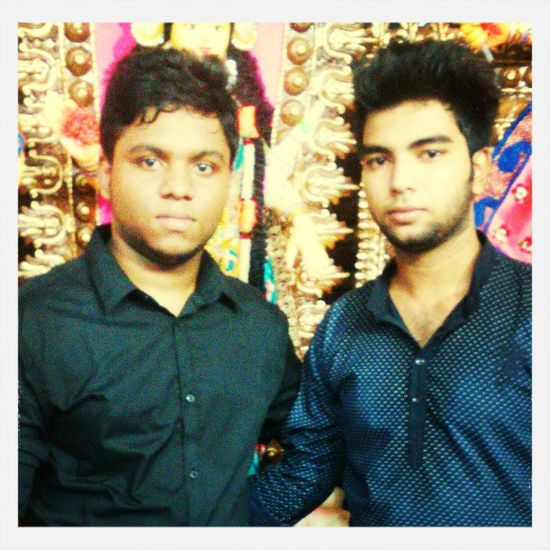 Me with my brother.. First Eyeem Photo