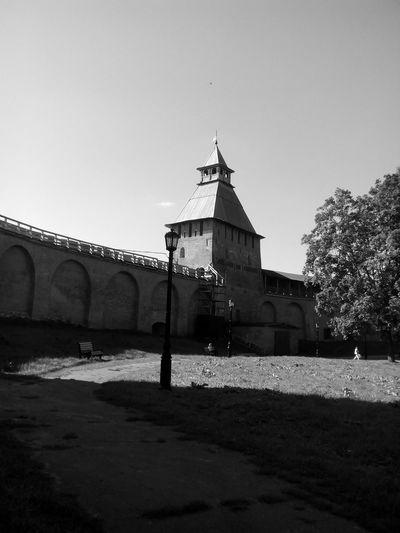 Novgorod Kremlin Black & White