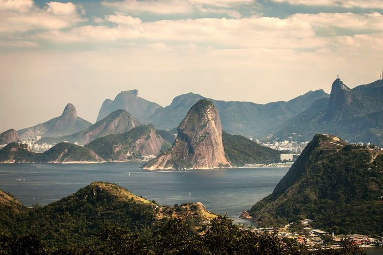Rio de Janeiro hills seen from Parque da Cidade, Niteroi, Brazil - Canon EOS 500D Hanging Out Taking Photos Check This Out Enjoying Life Getting Inspired Discover Your City Nature The Great Outdoors - 2015 EyeEm Awards Outdoors Rio De Janeiro The Great Outdoors With Adobe