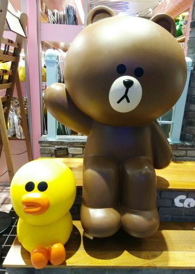 每一個都好可愛 6~ LINE Choco LineChoco Linefriends LineFriendsStore 熊大妹妹